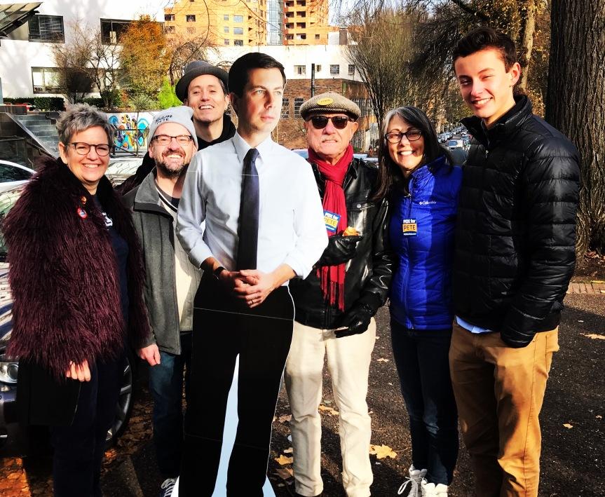 PDX for Bete Buttigieg Portland