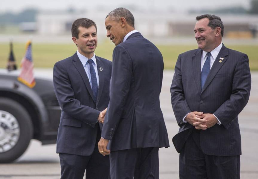 Pete Buttigieg Barack Obama