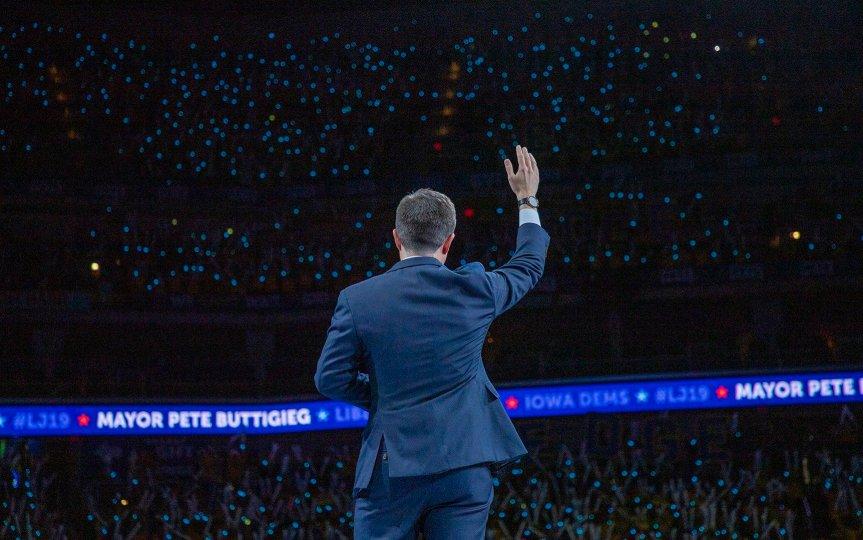 Pete Buttigieg Iowa Liberty and Justice