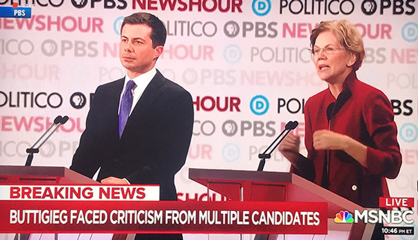 Pete Buttigieg Elizabeth Warren