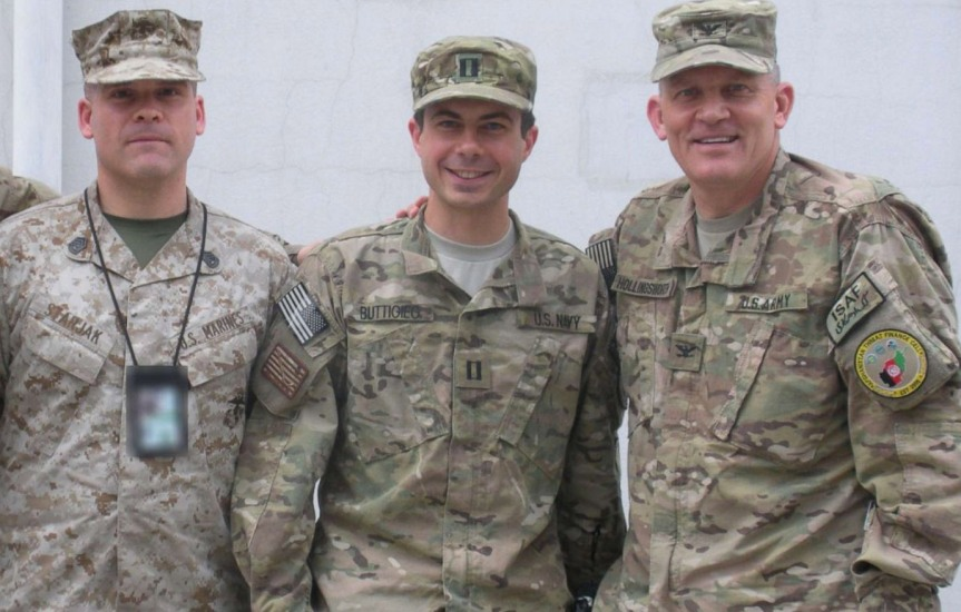 Pete Buttigieg's Military Service: Honor, Courage, Commitment