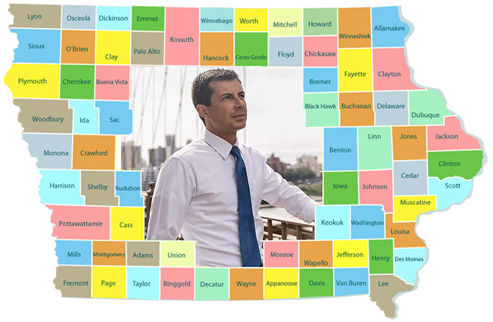 Are You There, Iowa?  It's Me, a Pete Buttigieg Supporter