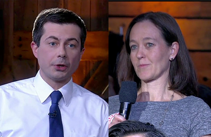 A Pro-Life Democrat Gave Pete Buttigieg a Tough Question.  Pete Buttigieg Proved He Should Be President With His Answer.